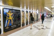 聖闘士星矢新宿駅-5