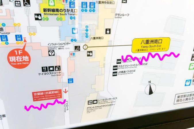 京葉線東京駅-32