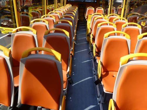 はとバス席