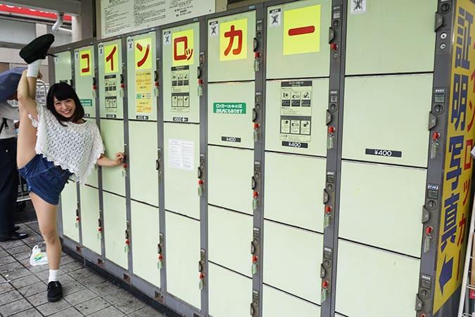 品川駅の改札内・改札外のコインロッカー完全ナビ【超穴場有】